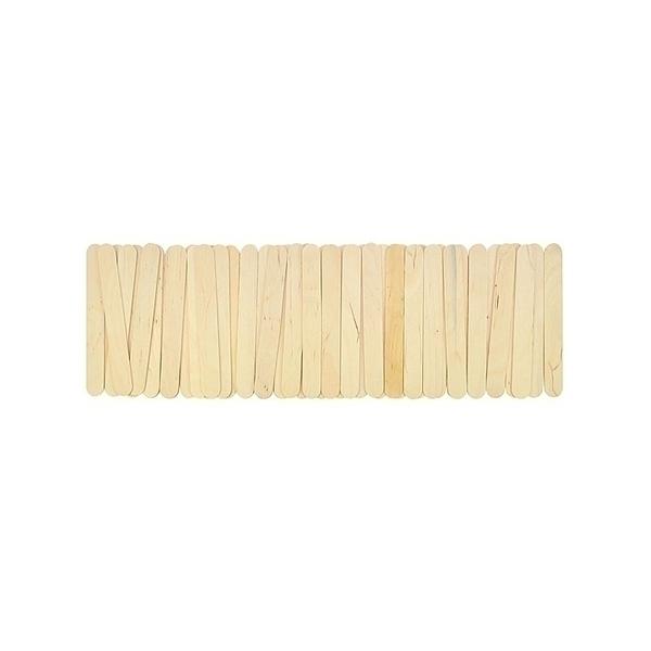 Eduplay - Bâtonnets bois nature, grand modèle