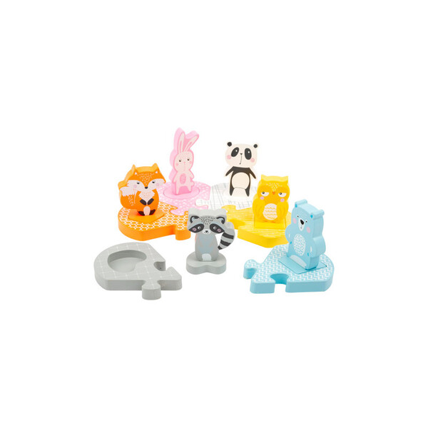 Small Foot - Puzzle Z'animaux pour 2 ans