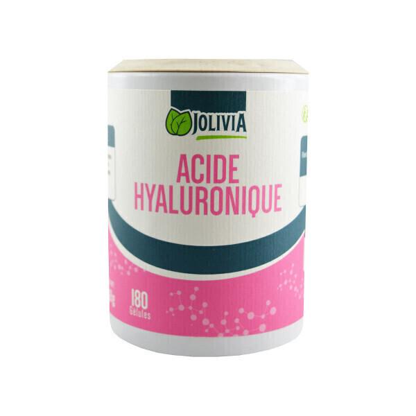 Jolivia - Acide Hyaluronique - 180 gélules végétales de 60 mg