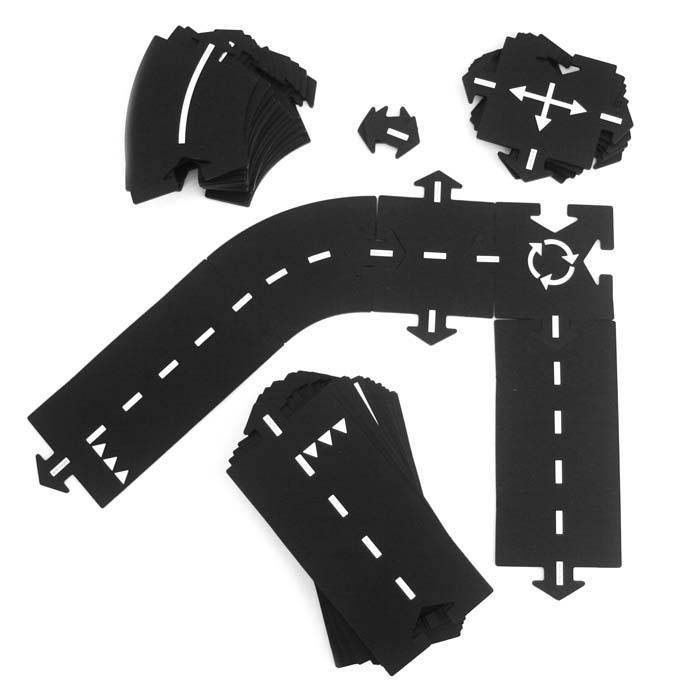 WAY TO PLAY - Circuit voiture flexible 24 pces - Highway - Way to Play