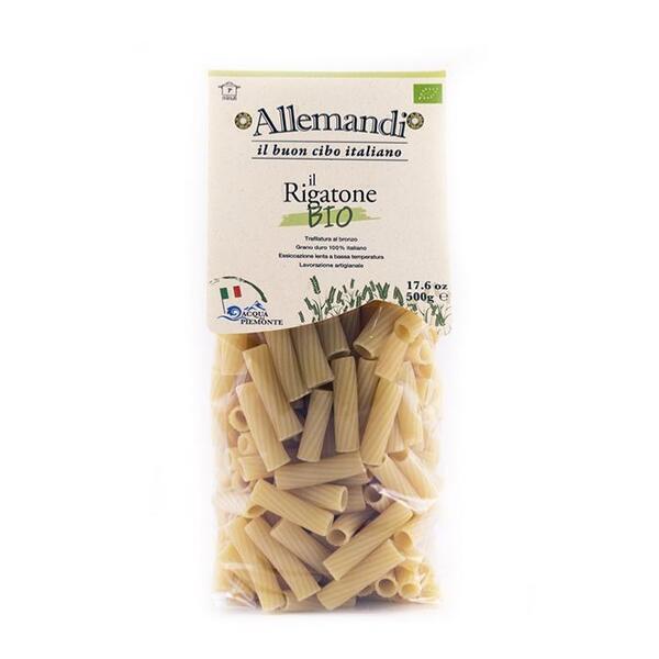 Saveurs de Tosca - Pâtes de Semoule Rigatoni BIO Pâtes Allemandi - 500 gr excellenc