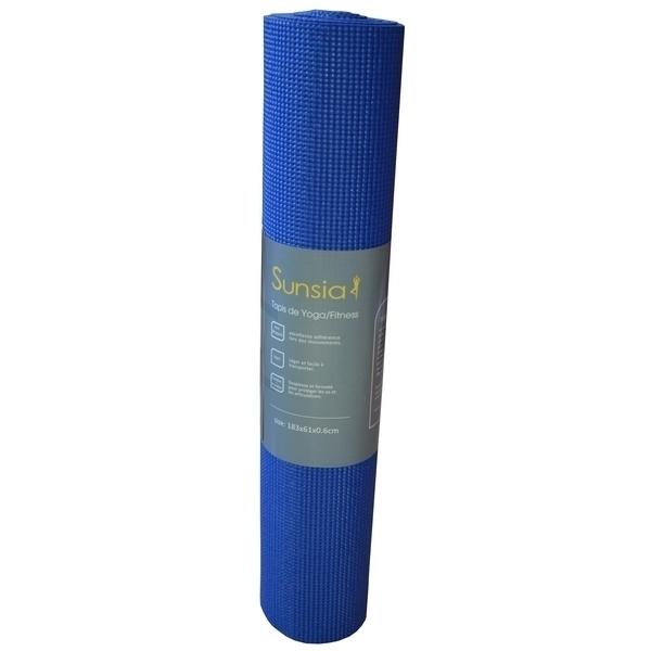 Zen' Arôme - Tapis de Yoga Bleu