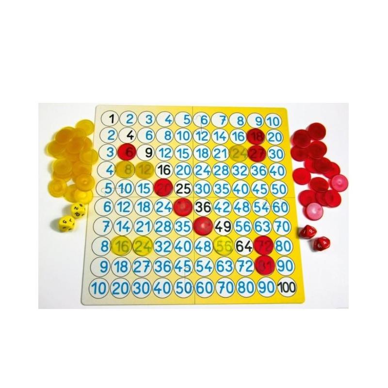 Wissner - jeu mathématique - Tableau de multiplication