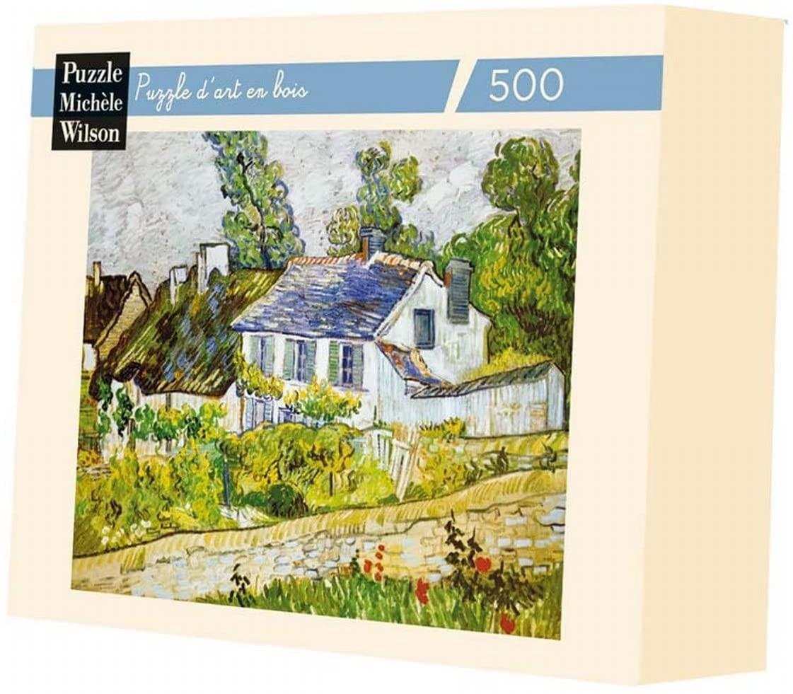 Michèle Wilson - Puzzle MW 500 Pièces Maisons A Auvers VAN GOGH