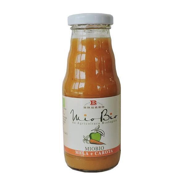 Saveurs de Tosca - Jus de pomme et carotte bio - Nectar de fruits bio de Brezzo - 2