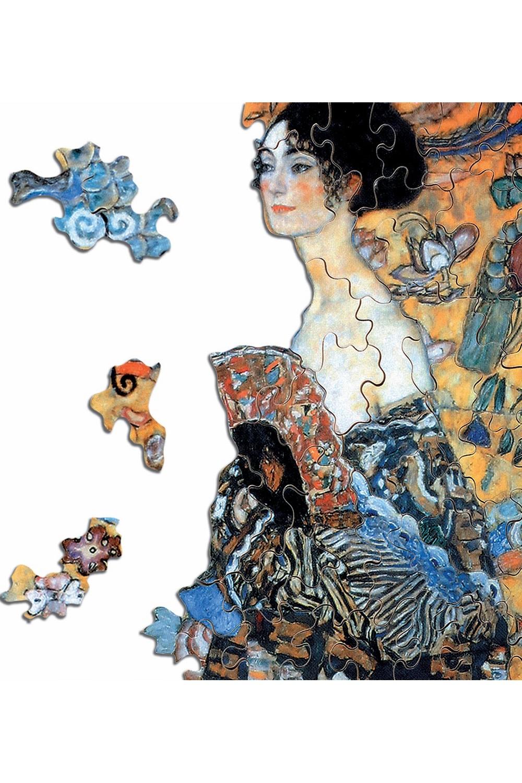 Michèle Wilson - Puzzle Michèle Wilson La Dame A L'Eventail 350 Pièces