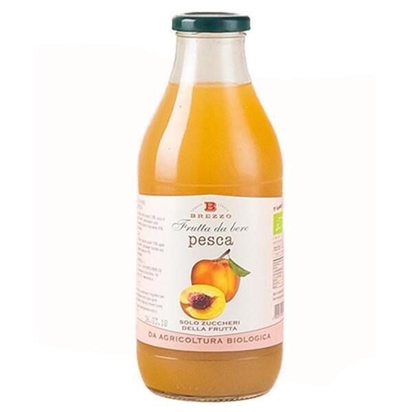 Saveurs de Tosca - Jus de pêche Bio - Nectar de fruits bio de Brezzo - 750 ml