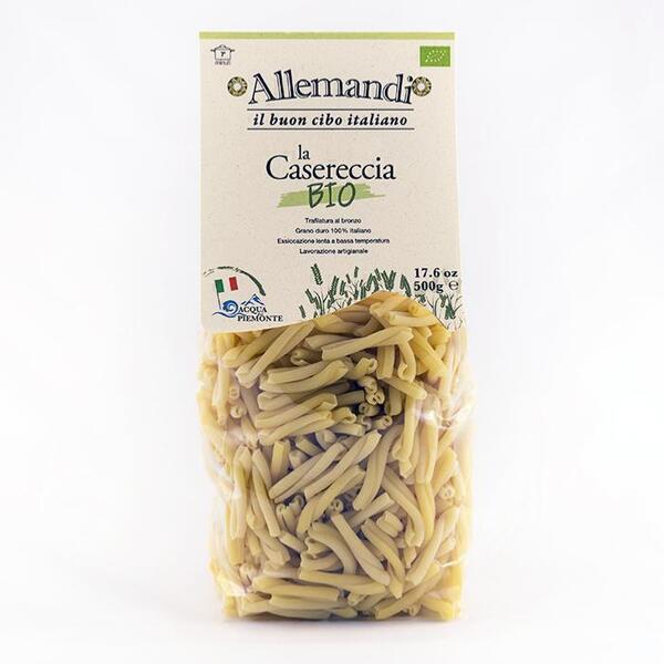 Saveurs de Tosca - Pâtes de Semoule Caserecce BIO Pâtes Allemandi - 500 gr excellen