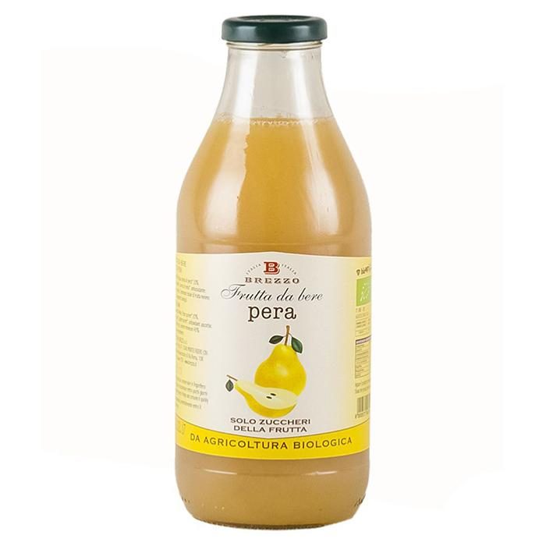 Saveurs de Tosca - Jus de poire bio - Nectar de fruits bio de Brezzo - 750 ml