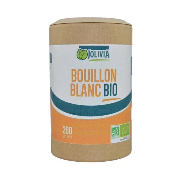 Jolivia - Bouillon blanc Bio - 200 gélules végétales de 125 mg