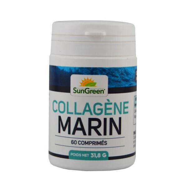 Sungreen - Collagène Marin et Vitamine C - 60 comprimés de 500 mg