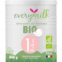 Everymilk - Lait infantile Bio everymilk 1 de 0 a 6 mois - 1 boite