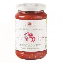 Saveurs de Tosca - Tomate bio italienne en morceaux Brezzo - 350 gr