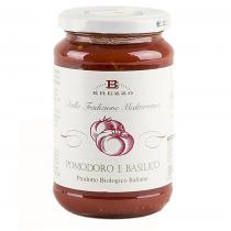 Saveurs de Tosca - Tomate italienne biologique et basilic Brezzo - 350 gr