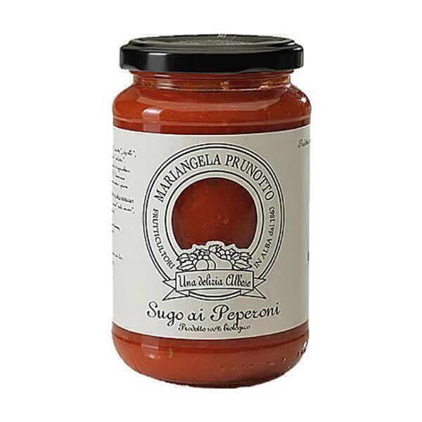 Saveurs de Tosca - Sauce tomate et poivron BIO Prunotto - 340 gr Nature