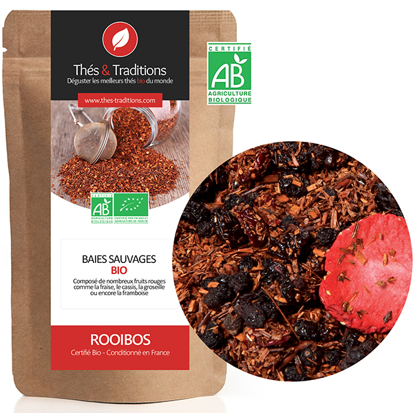Thés & Traditions - Roobios fruits rouges BIO