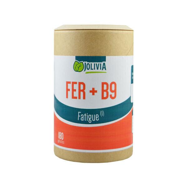 Jolivia - Fer + B9 - 180 gélules de 14 mg
