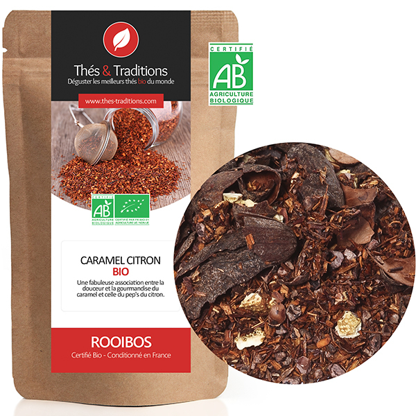 Thés & Traditions - Rooibos canneberge gingembre BIO