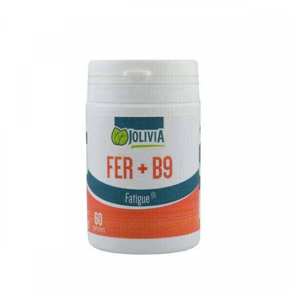 Jolivia - Fer + B9 - 60 gélules de 14 mg