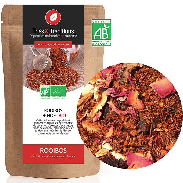 Thés & Traditions - Rooibos cannelle orange BIO