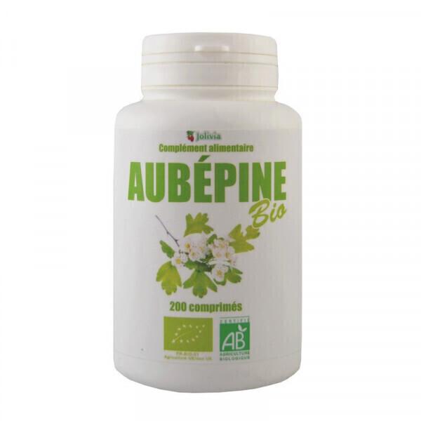 Jolivia - Aubépine Bio - 200 comprimés de 400 mg
