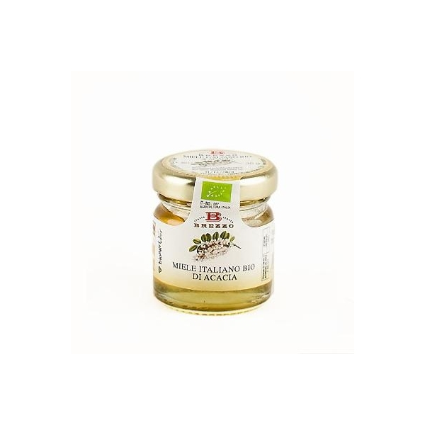 Saveurs de Tosca - Mignon Miel d'Acacia Brezzo BIO Naturel de Qualité 100% ita
