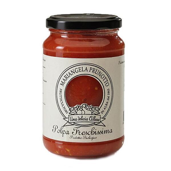 Saveurs de Tosca - Pulpe de tomates fraiches BIO Mariangela Prunotto - 340 gr Natur