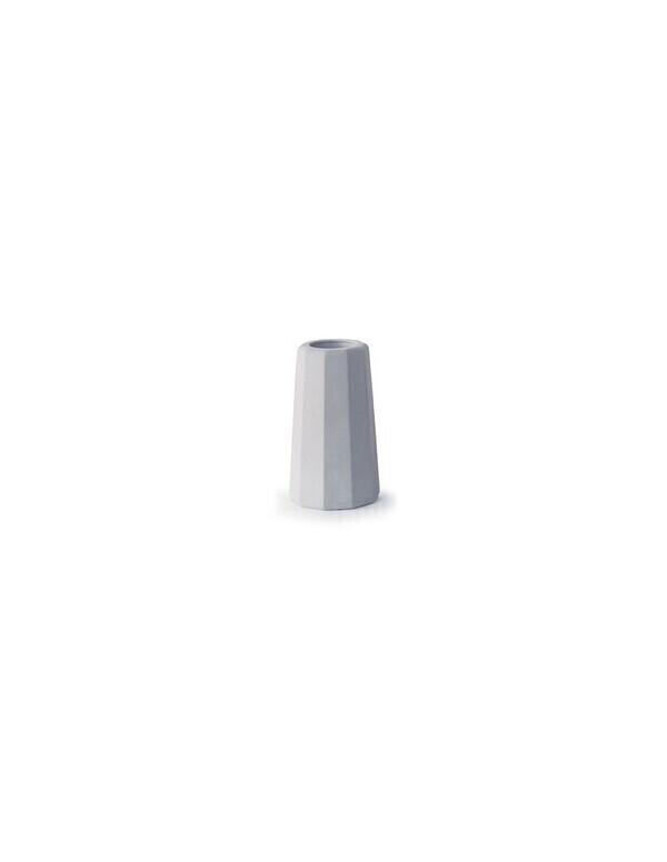 Gone's - FACETTE - Vase soliflore en béton (petite taille) H9cm
