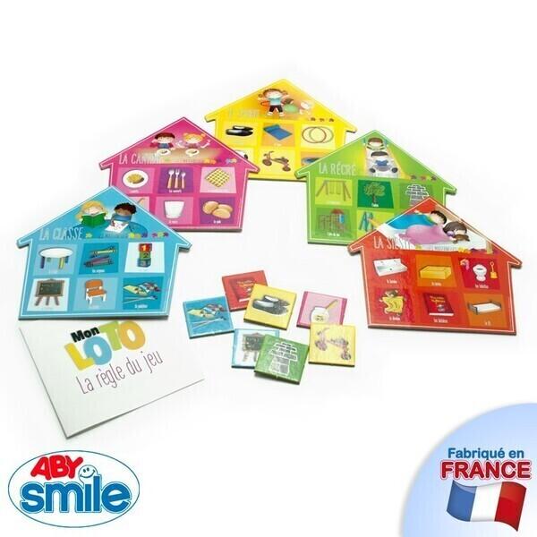 Aby Smile - La Maison des Maternelles - Mon loto