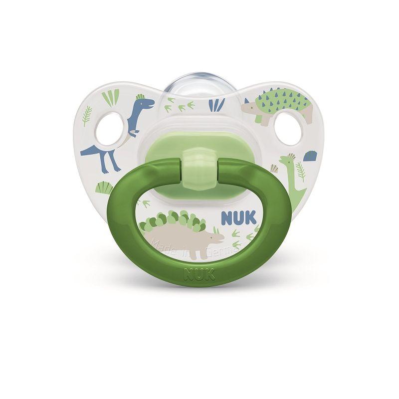 NUK - 2 Sucettes CLASSIC 0-6m - NUK