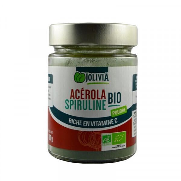 Jolivia - Acérola Spiruline Bio - 100 g