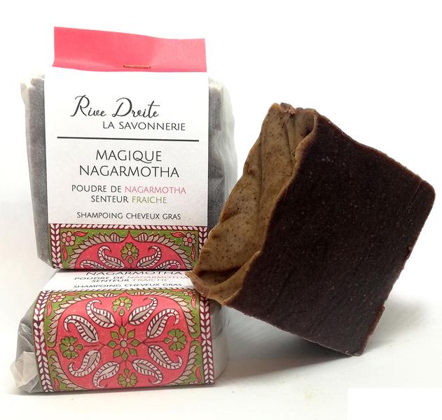 Rive Droite, LA SAVONNERIE - Shampoing Solide Cheveux Gras Magique Nagarmotha