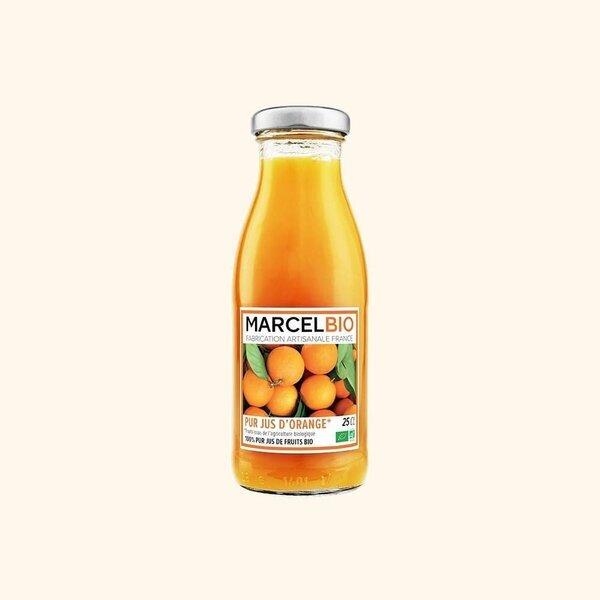 Marcel Bio - Pur Jus d'Orange Bio - 25cl