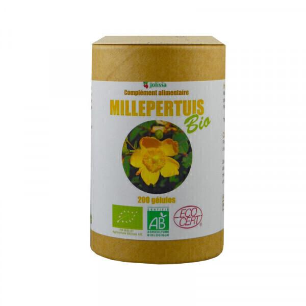 Jolivia - Millepertuis Bio - 200 gélules végétales de 250 mg