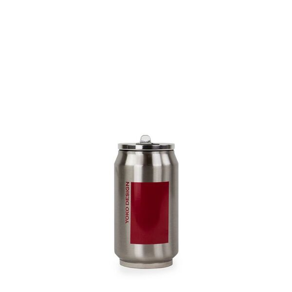 Yoko Design - CANETTE ISOTHERME 280 ML DUO coloris ROUGE