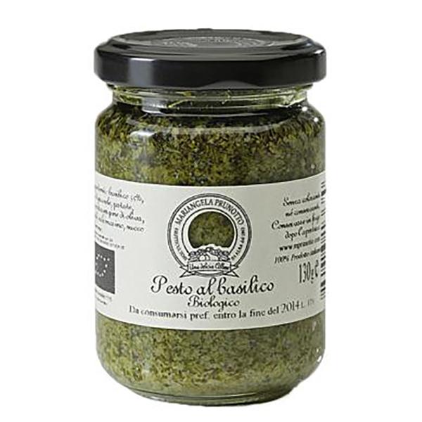 Saveurs de Tosca - Sauce Pesto BIO au basilic vegan Mariangela Prunotto - 130 gr Na