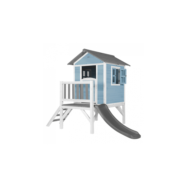 Axi - AXI Beach Lodge XL Maisonnette Caribbean Bleu Toboggan Gris
