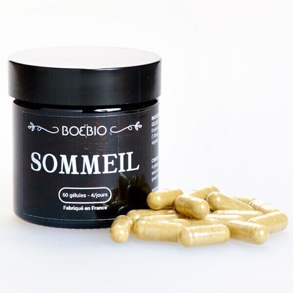 Bioptimal - Sommeil - BoeBio - Remède pour mieux Dormir - 60 gélules