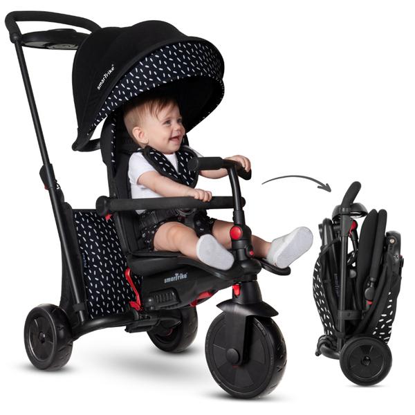 Smartrike - Tricycle pliable évolutif 7en1 - SmarTfold 600S Noir