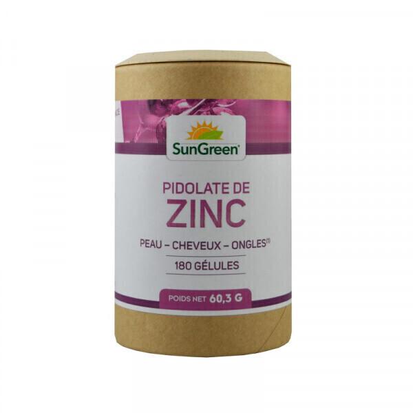 Sungreen - Zinc + B6 - 180 gélules