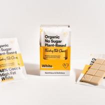 Funky Fat Foods - Chocolat blanc avec de la vanille bourbon (sans sucre /low carb)