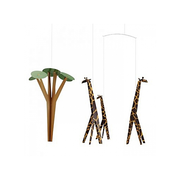 Flensted Mobiles - 3 Girafes