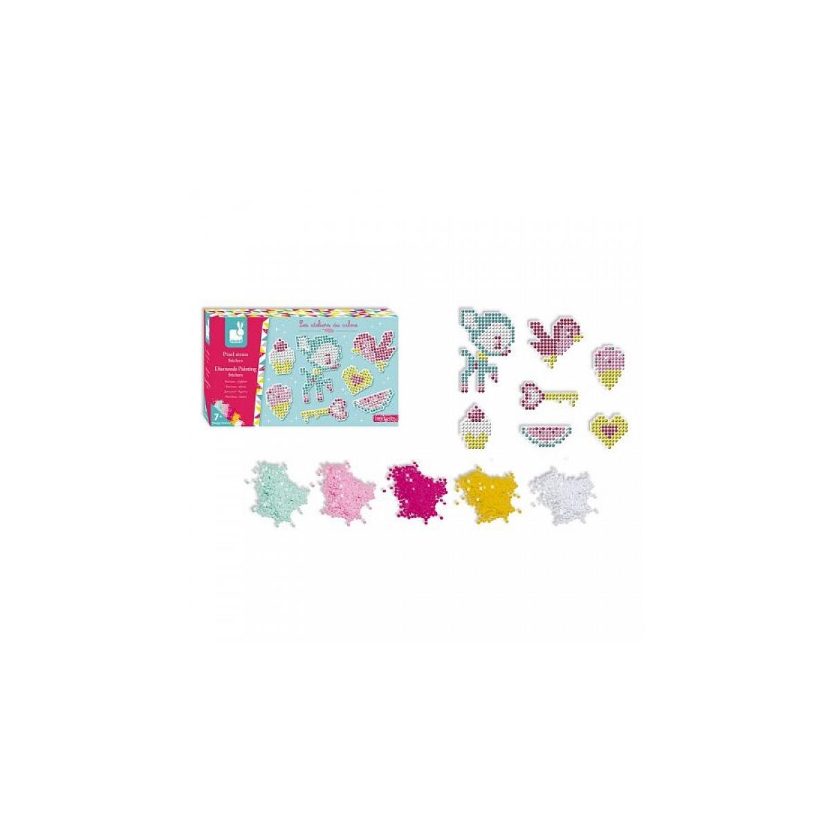 Janod - Pixel strass Stickers