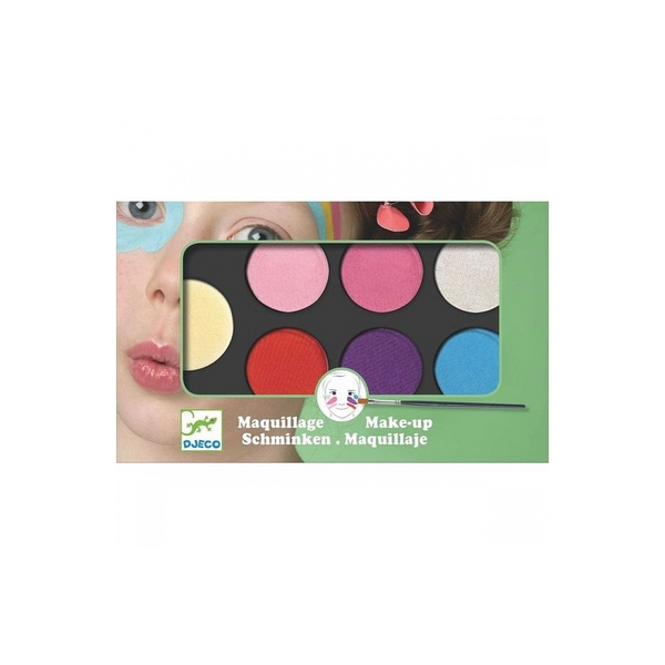 Djeco - Maquillage palette 6 couleurs Sweet