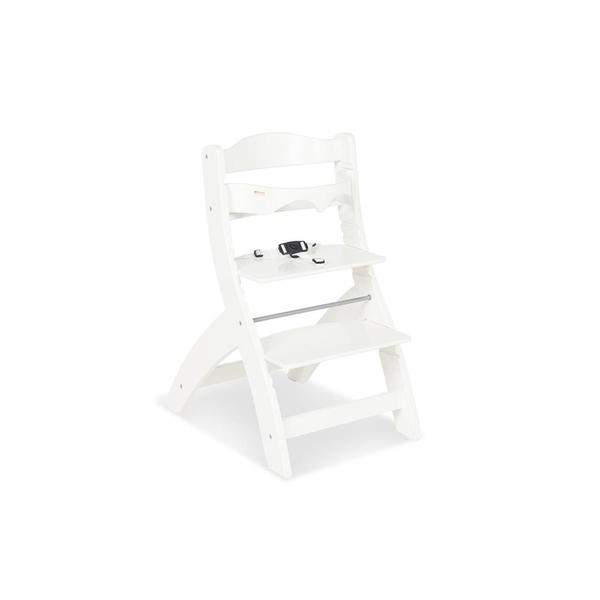Pinolino - Chaise Haute en bois blanc Thilo
