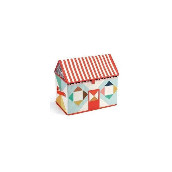 Djeco - Coffre à jouets - Maison