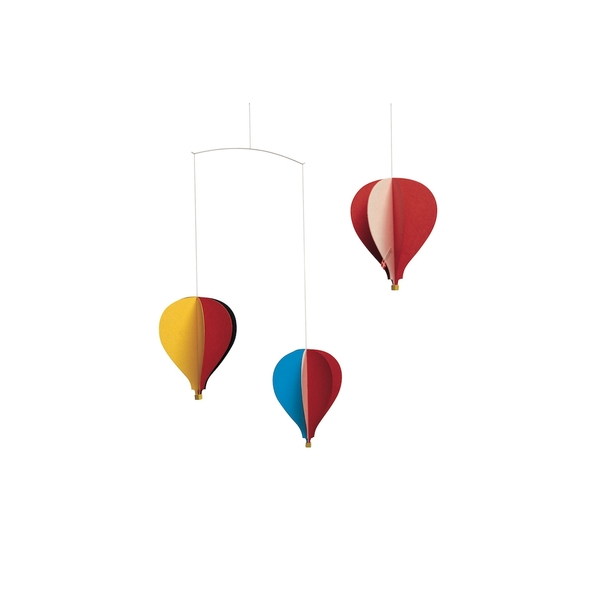 Flensted Mobiles - 3 Mongolfieres