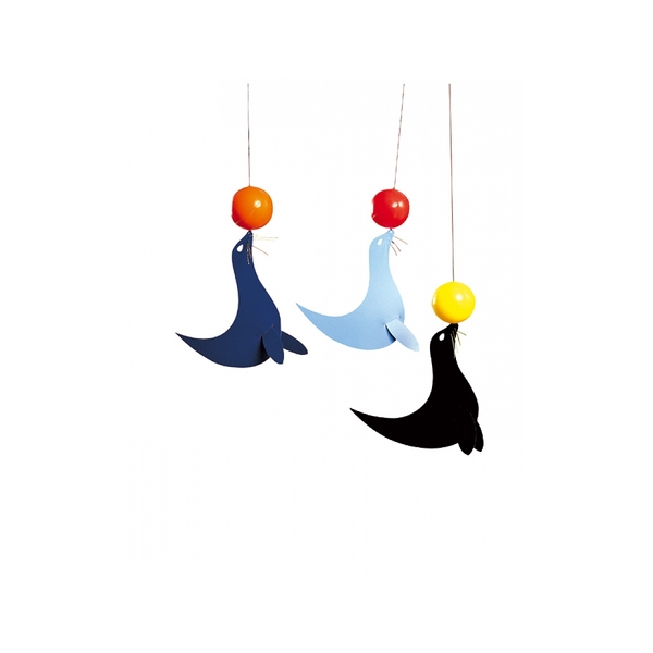 Flensted Mobiles - 3 happy sealions
