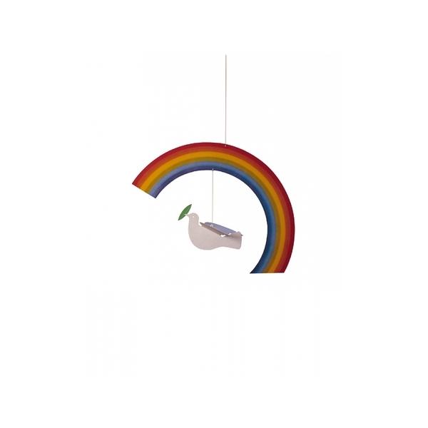 Flensted Mobiles - Mobile décoratif  Noah's Rainbow