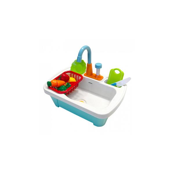 Axi - AXI Evier de cuisine avec accessoires en plastique
